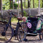 La remorque a vélo : bientôt un indispensable