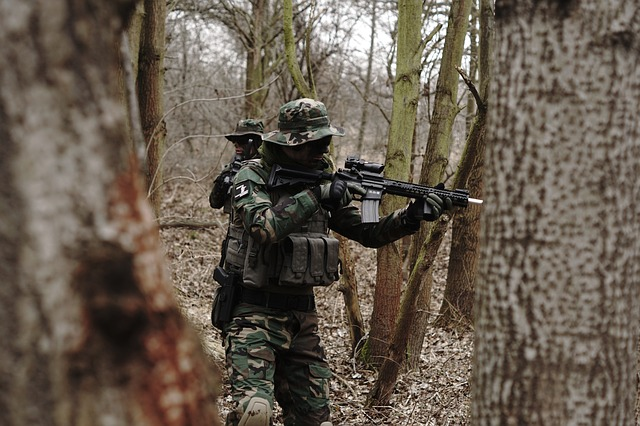 Quel filet de camouflage pour une partie d'airsoft ?