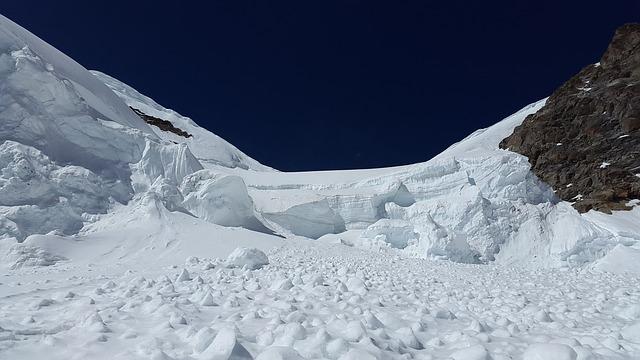 Les drapeaux d'avalanche indispensables sur les pistes de ski